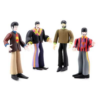 "McFarlane Toys The Beatles ""Yellow Submarine"" Figurines, 1999"