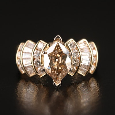 14K 2.03 CTW Diamond Ring Set