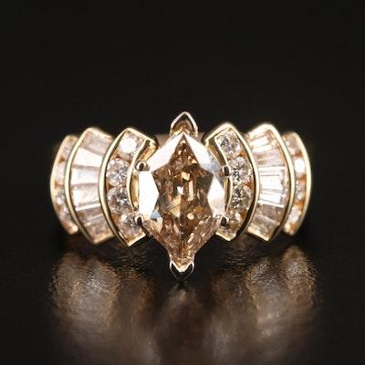 14K 2.03 CTW Diamond Ring Set