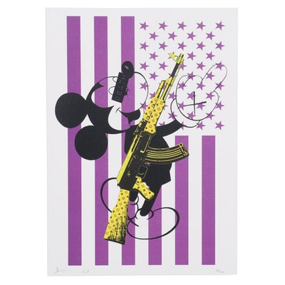 Death NYC Pop Art Offset Print of Mickey Mouse, 2018