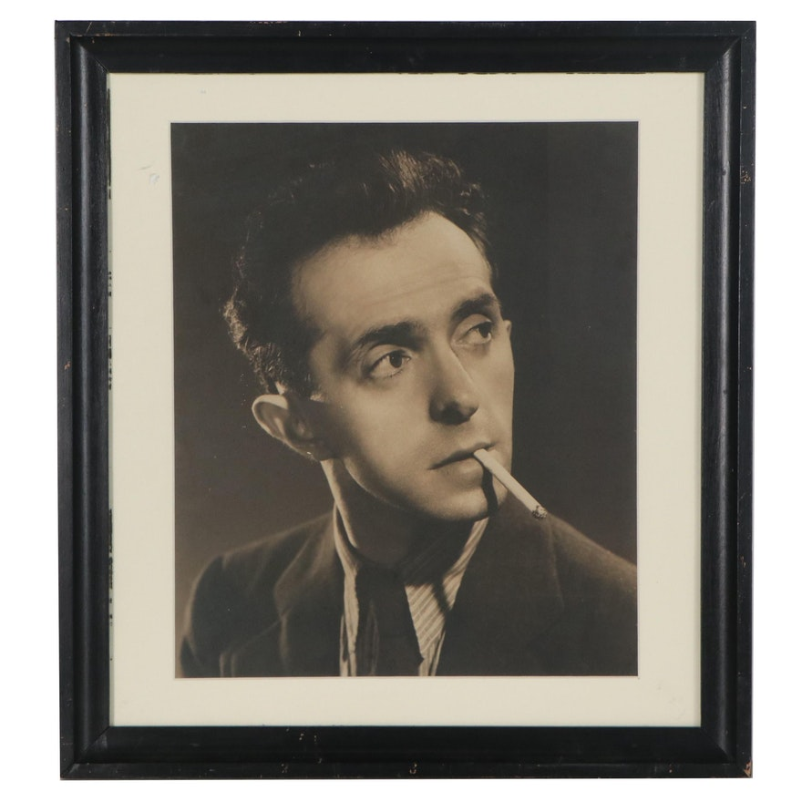 Siegfried Colten Photograph Portrait of Raphael Soyer,  20th Century