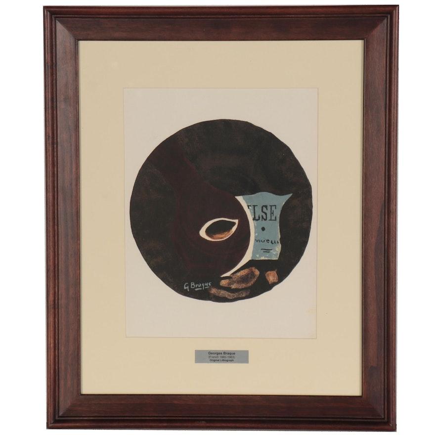 """Georges Braques Lithograph for """"Derriere le Miroir"""""""