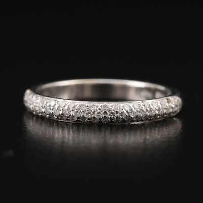 "Roberto Coin ""Cento"" 18K Diamond Band"