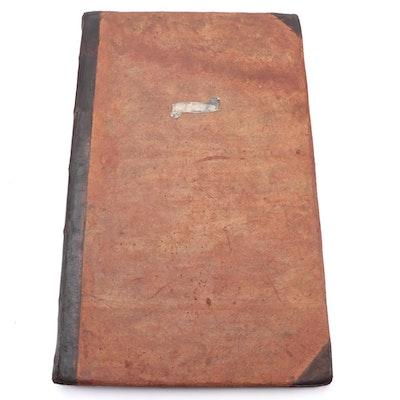 """""""Atlas Compendiarius Seu Ita Dictus Scholasticus Minor"""" Folio, 1753"""