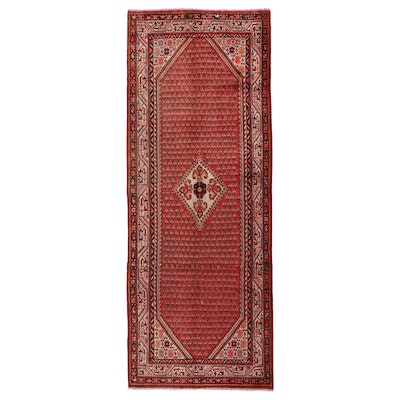 4'3 x 11'4 Hand-Knotted Long Rug