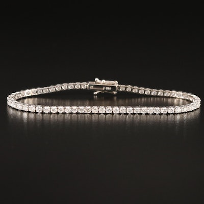 18K 3.48 CTW Diamond Tennis Bracelet