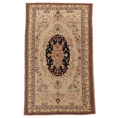6'8 x 10'11 Hand-Knotted Persian Area Rug