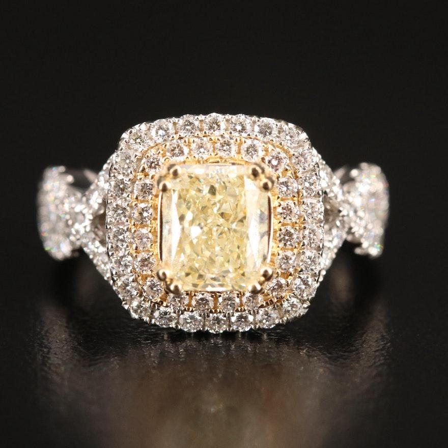 14K 3.00 CTW Diamond Ring