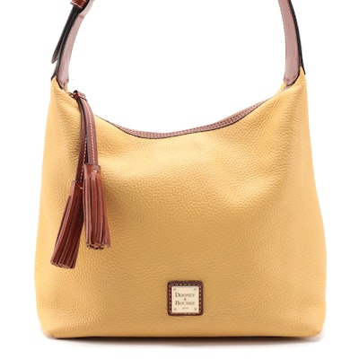 Dooney & Bourke Paige Sac Hobo Bag in Palomino Pebble Grained Leather