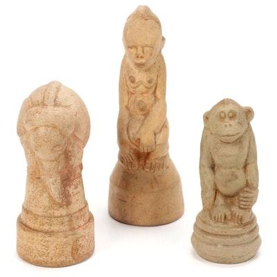 Paul Bogatay Ceramic Figurines, Mid-20th Century