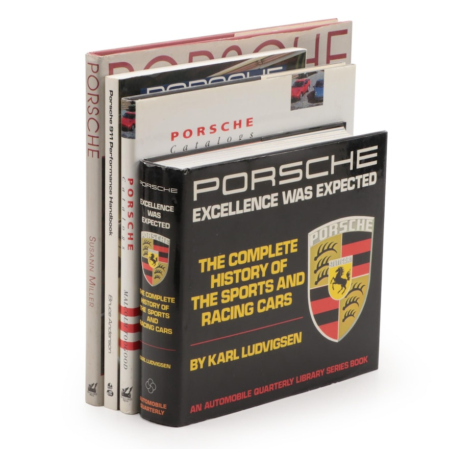 Porsche History and Reference Books, Late 20th Century