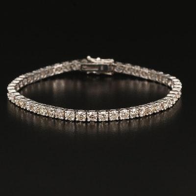 14K 7.29 CTW Diamond Line Bracelet