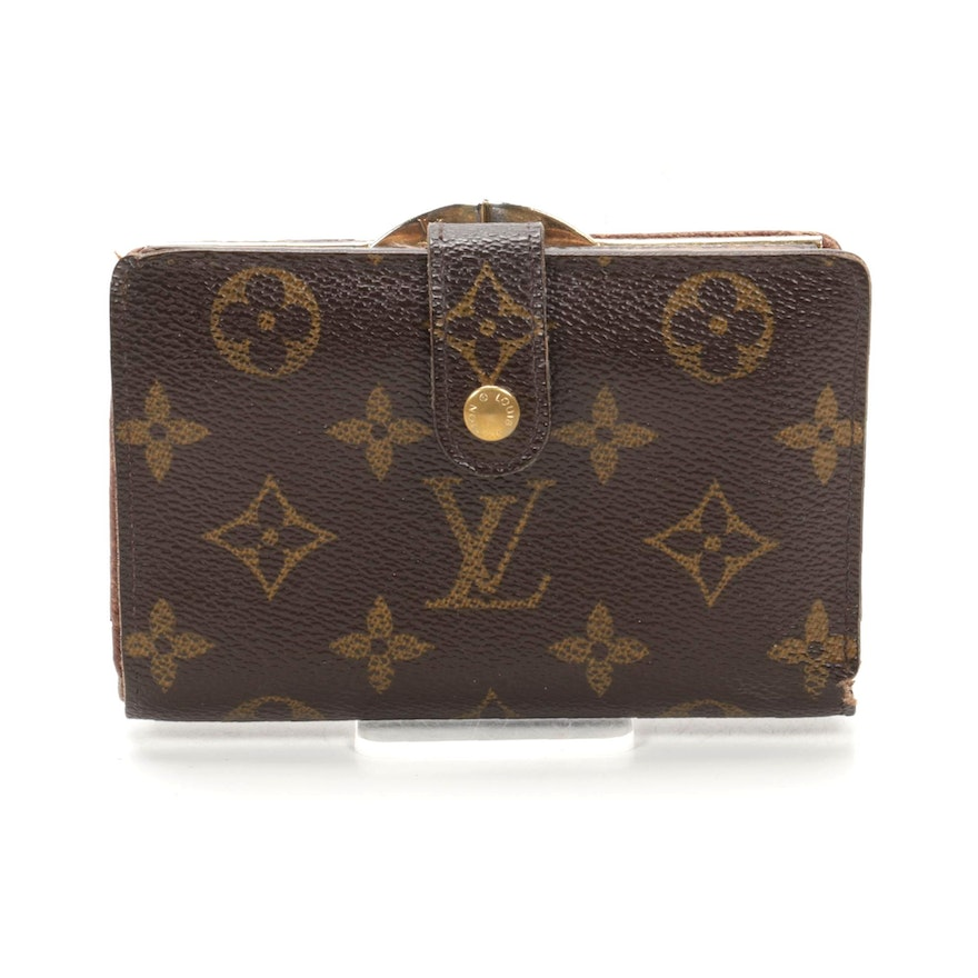 Louis Vuitton French Purse Wallet in Monogram Canvas