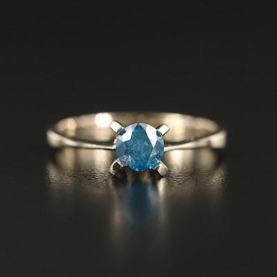 14K 0.46 CT Diamond Solitaire Ring