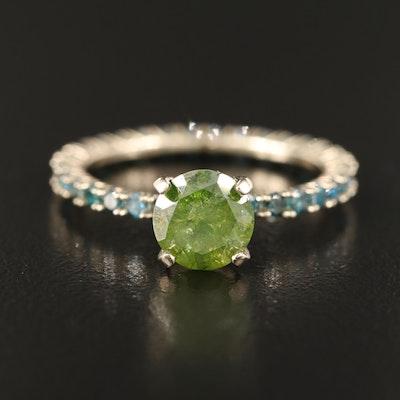 14K 2.22 CTW Diamond Ring
