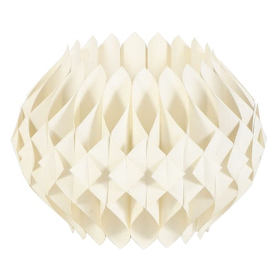 Mid Century Modern Decorative Plastic Lamp Shade, Mid-20th Century