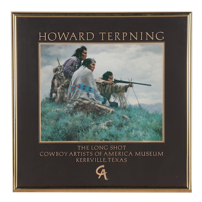 Cowboy Artist of America Museum Offset Lithograph Poster after Howard Terpning
