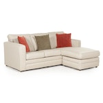 """Berger"" Sectional Sleeper Sofa with Chaise"