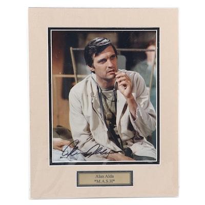 "Alan Alda Signed ""M.A.S.H"" CBS Television Sitcom Photo Print, COA"