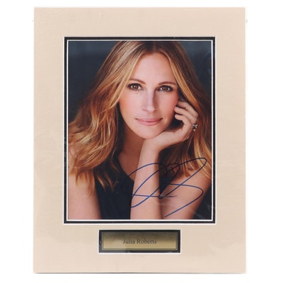 Julia Roberts Signed Hollywood Celebrity Photo Print, COA
