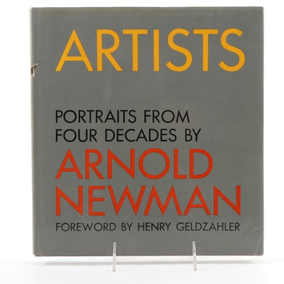 "Signed First Edition ""Artists: Portraits from Four Decades"" by Arnold Newman"