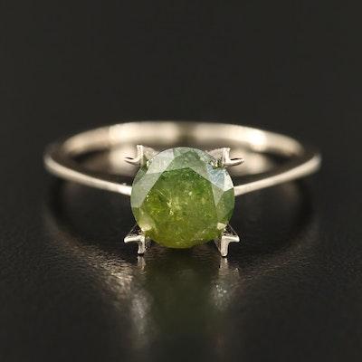 14K 1.53 CT Diamond Solitaire Ring