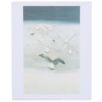 "Offset Lithograph after Nicolas De Stael ""Seagulls"""