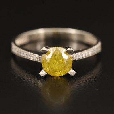 14K 1.09 CTW Diamond Ring