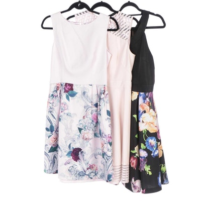 Ted Baker Illusia, Eilah and Eleese Sleeveless Fit and Flare Dresses