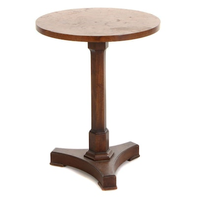 Old Colony Furniture Co. Empire Style Mixed Wood Pedestal Table