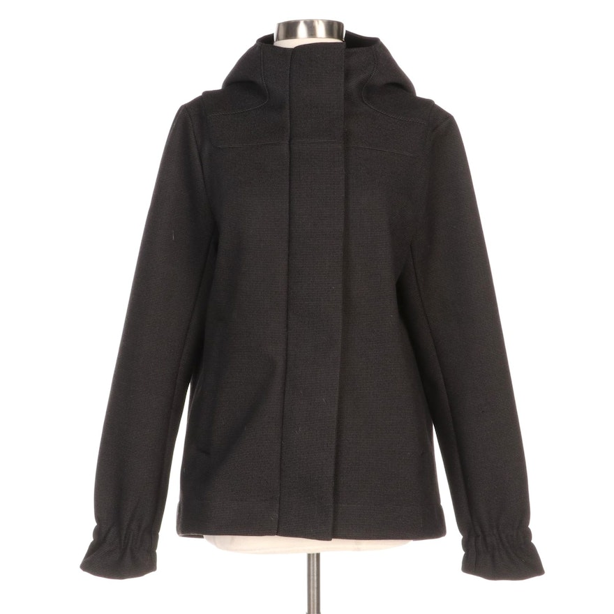 Lululemon Hooded Swing Style Knit Jacket