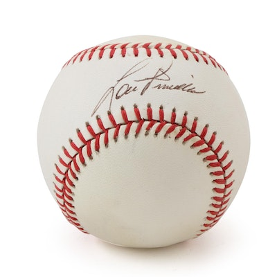 Lou Piniella Signed National League Baseball