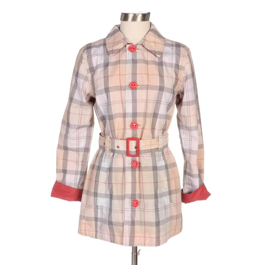 Barbour Oak Reversible Rain Jacket
