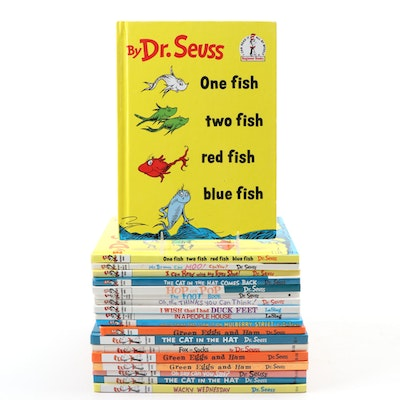 Dr. Seuss/Theo. LeSieg Children's Reading Books, Including Book Club Editions
