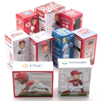 Cincinnati Reds Bobbleheads, Includes All-Star, Trevor Bauer and Sonny Gray