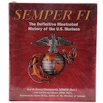 """First Edition """"Semper Fi"""" by Colonel H. Avery Chenoweth and Brooke Nihart"""