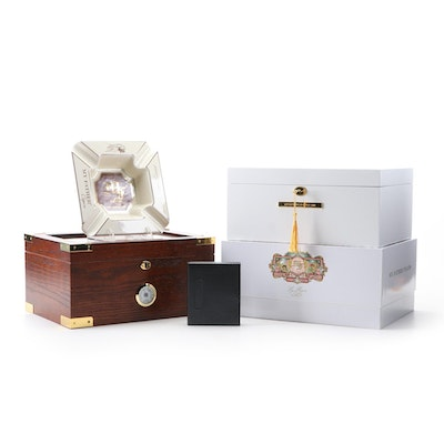 Party Source $100 Cigar Certificate, Humidors and Other Cigar Items
