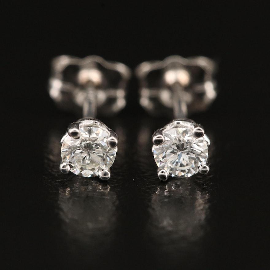 14K 0.29 CTW Diamond Stud Earrings