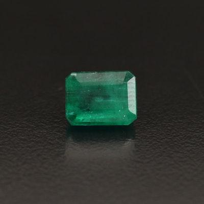 Loose 2.89 CT Rectangular Emerald