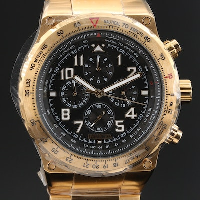 "Invicta ""Aviator"" Chronograph Wristwatch"