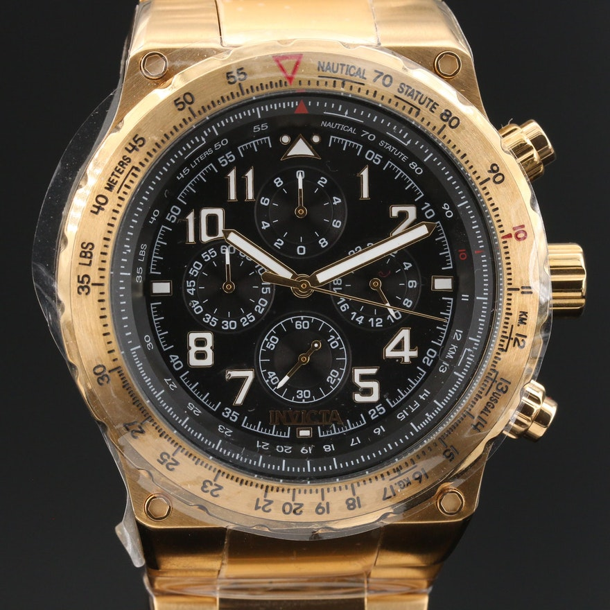 "Invicta ""Aviator"" Chronograph Wristwatch"