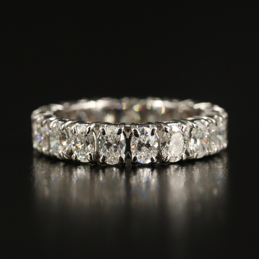 14K 3.23 CTW Diamond Eternity Band