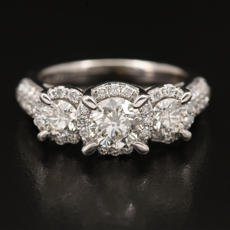 14K 1.97 CTW Diamond Ring