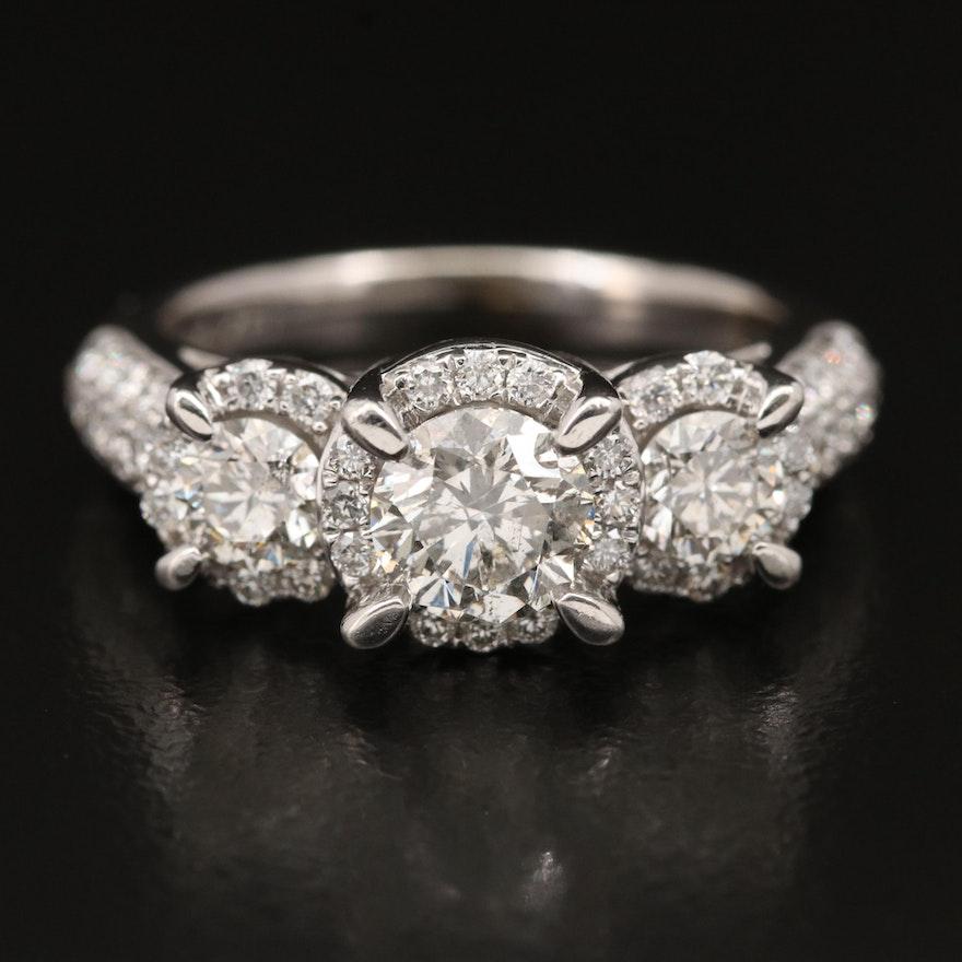 14K 1.97 CTW Diamond Ring