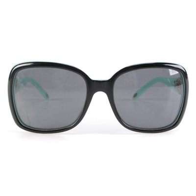 Tiffany & Co. TF 4029 Sunglasses and Chanel Eyewear Case