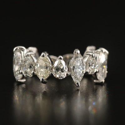 Platinum 3.95 CTW Diamond Eternity Band