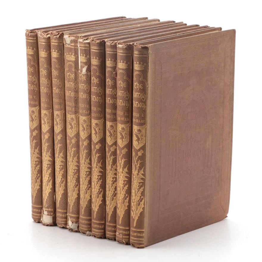 """The Scottish Nation"" Nine-Volume Set by William Anderson, 1860–1861"