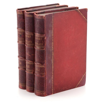 """The History of Scotland from the Earliest Period"" Three-Volume Set, c. 1860"