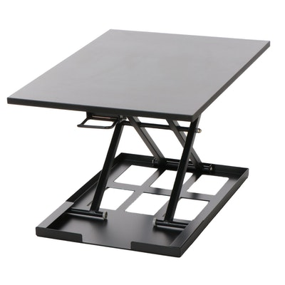 Adjustable Height Metal Standing Desk Conveter