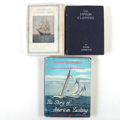 """The Opium Clippers"" by Basil Lubbock and More Sailing History Books"